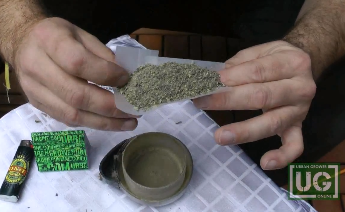 Urban Grower: How To Roll A Three-Paper Joint | Pot TV