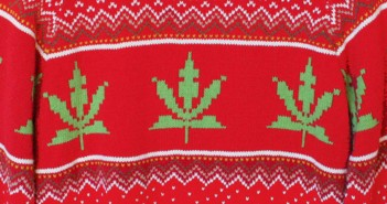 Weed Christmas Sweater