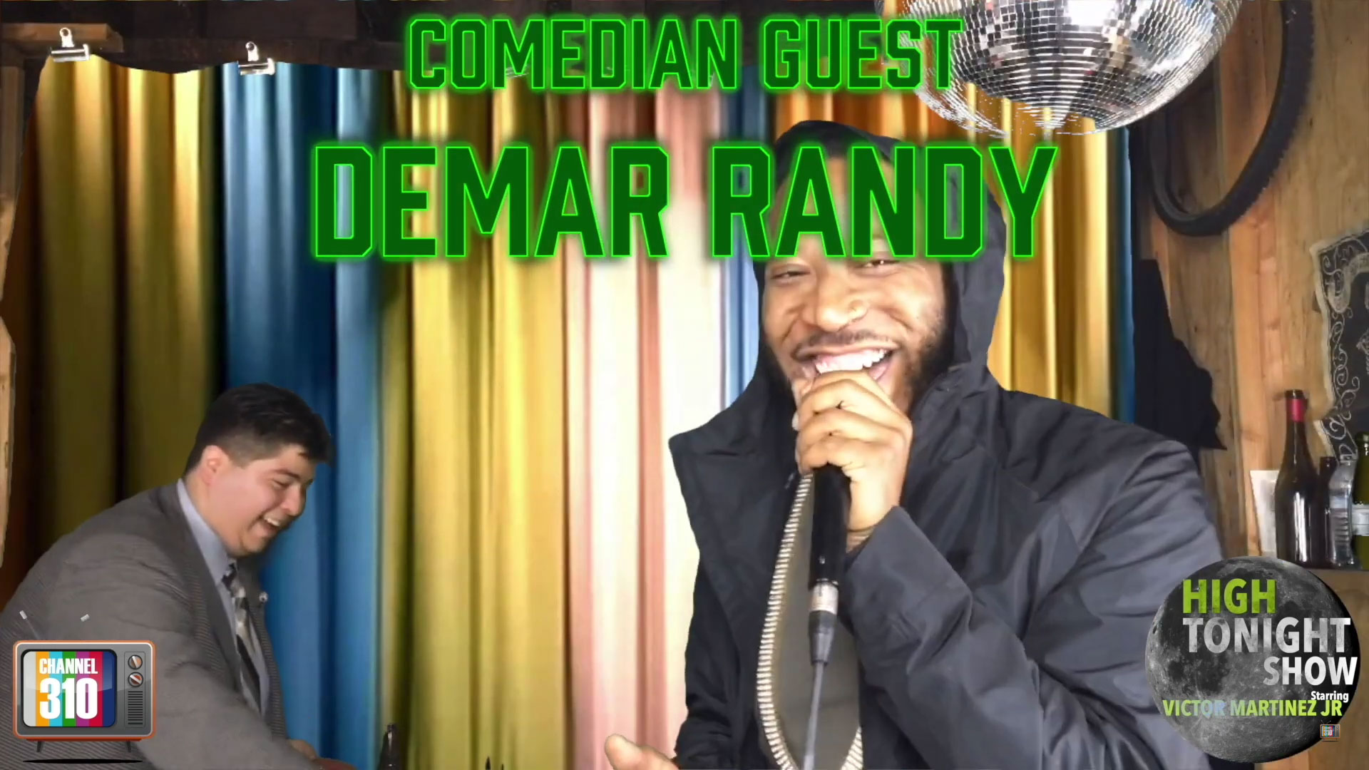 Comedian Demar Randy on The High Tonight Show
