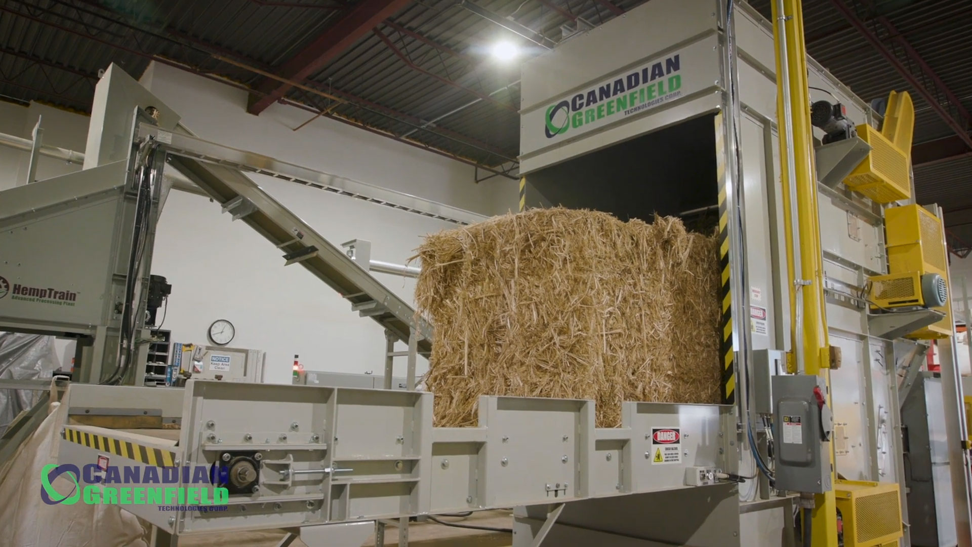 Hemp Processing Plant Facility Tour